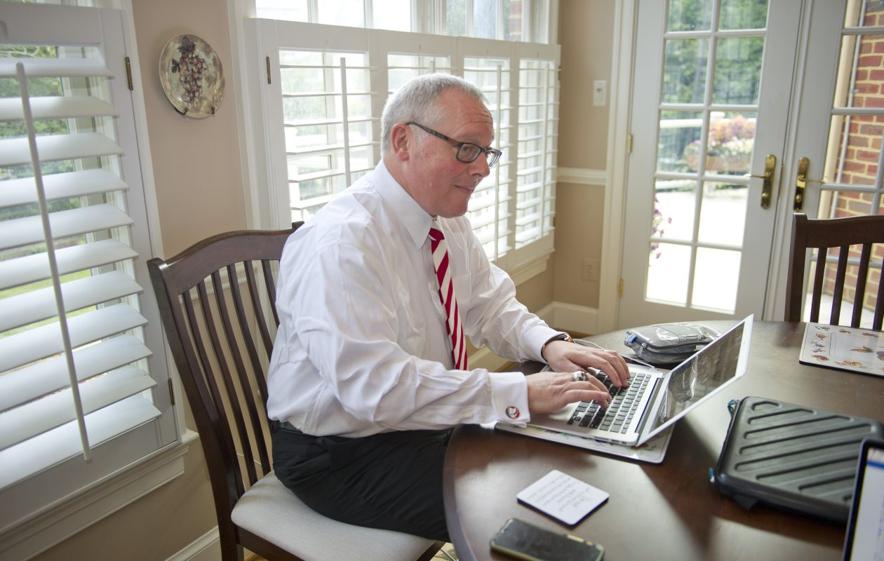 Michael R. Caputo, a Republican political strategist, has parted ways with the Erie County Water Authority, where he handled public relations. (Ron Sachs/CNP)