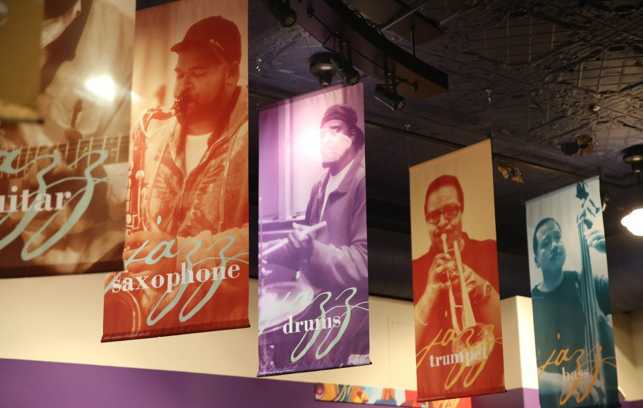 The first floor of the Colored Musicians Club is now the museum showing off its rich history. The club formed in 1918 occupied the present location in 1934. (Sharon Cantillon/Buffalo News)