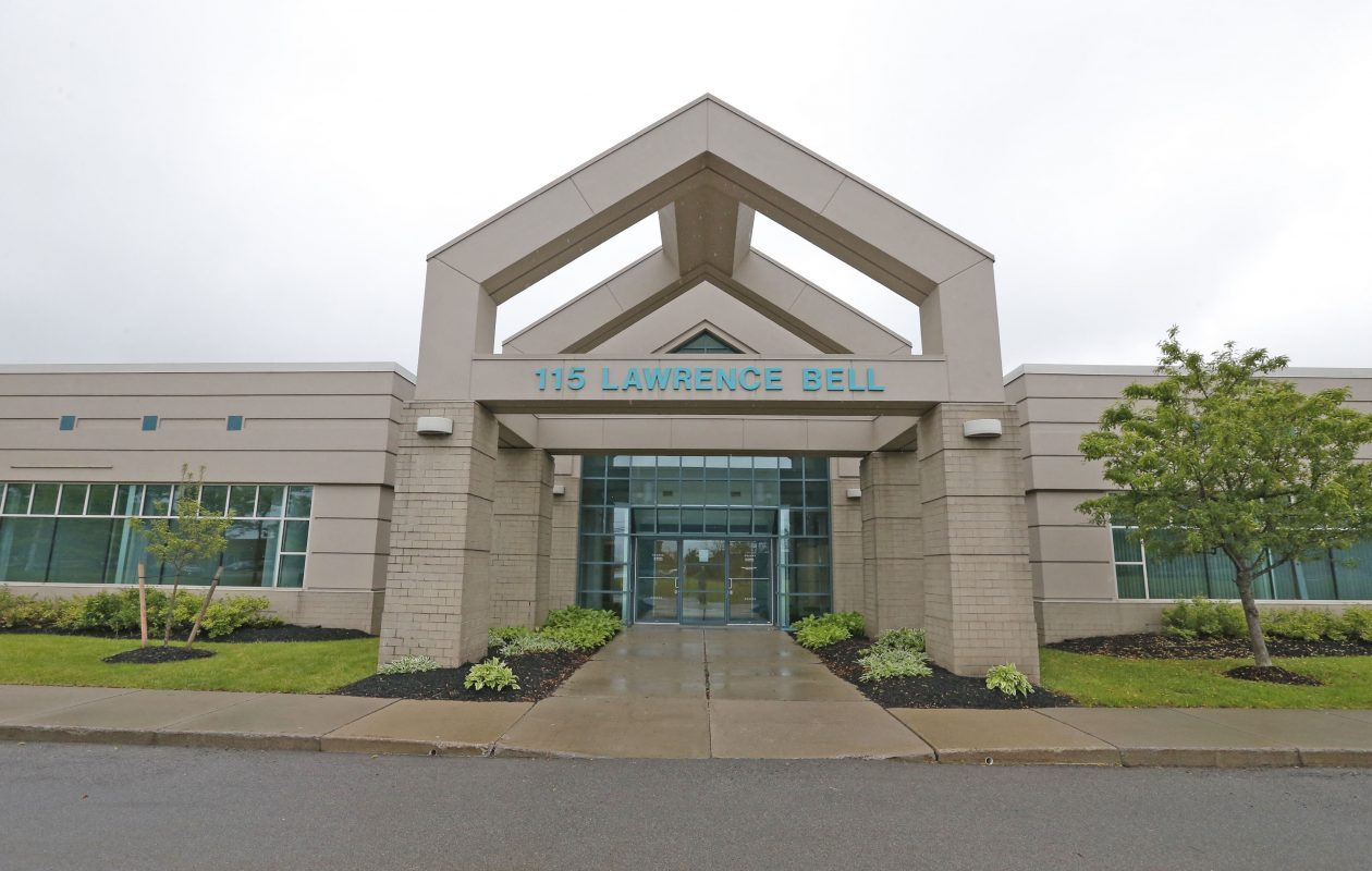Strategic Financial Solutions will open up offices at 115 Lawrence Bell Drive building in Amherst later this year. In the meantime, it has leased space downtown. (Robert Kirkham/Buffalo News)