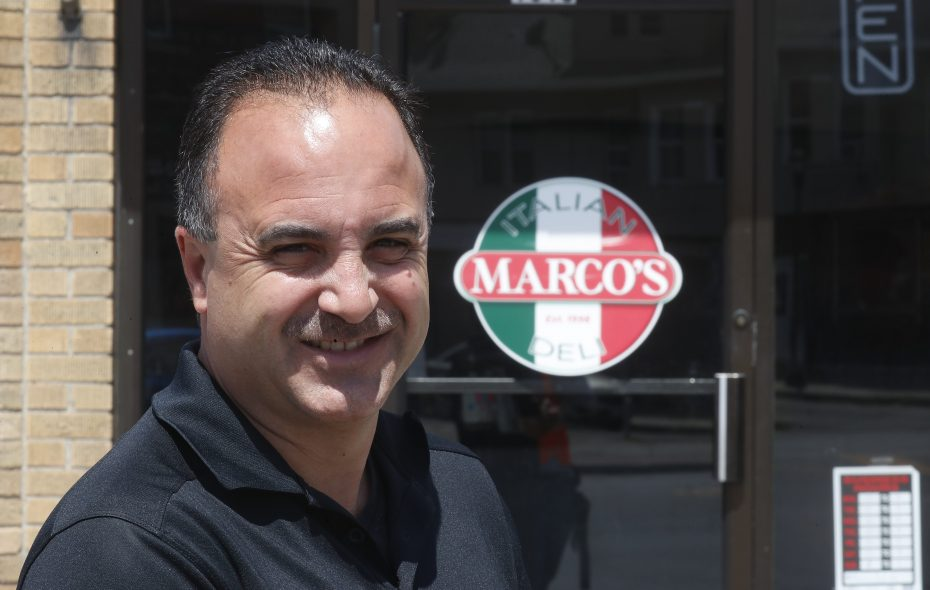 Marco Sciortino, the owner of Marco's Restaurant Marco's Italian Deli, will headline the event.  (John Hickey/Buffalo News)