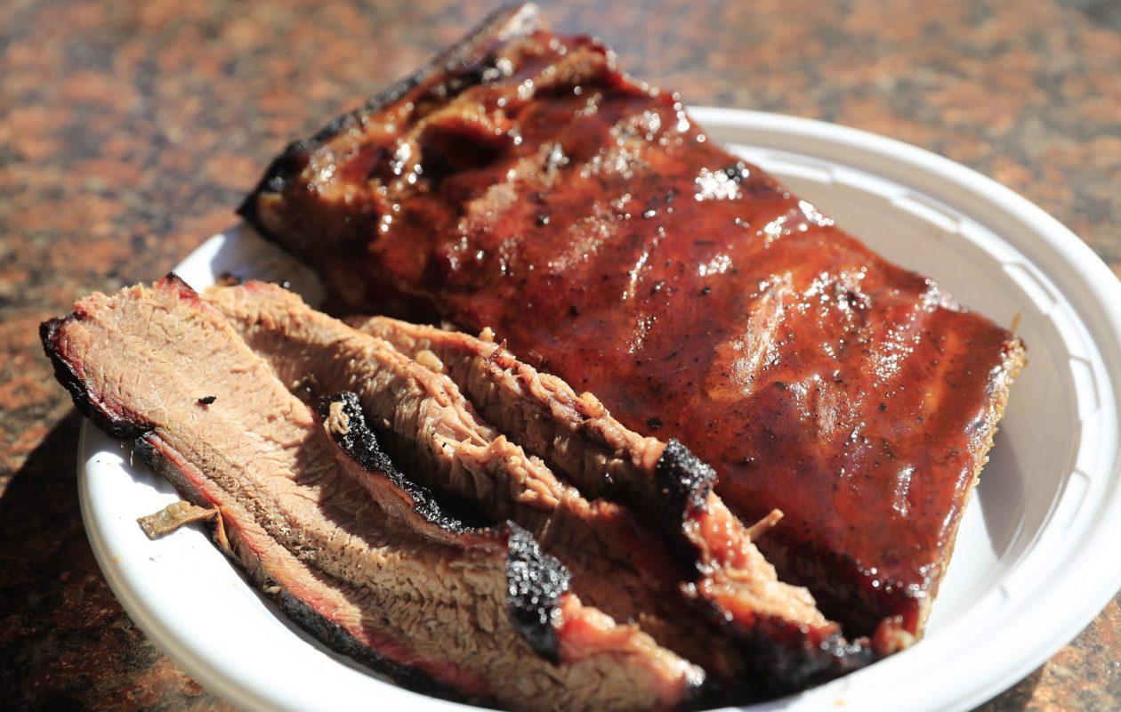 Ribs and brisket at Master's Barbecue. (Harry Scull Jr./Buffalo News)