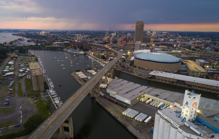 Another dreary and damp start to the week is expected across the Buffalo Niagara region. (Derek Gee/Buffalo News file photo)