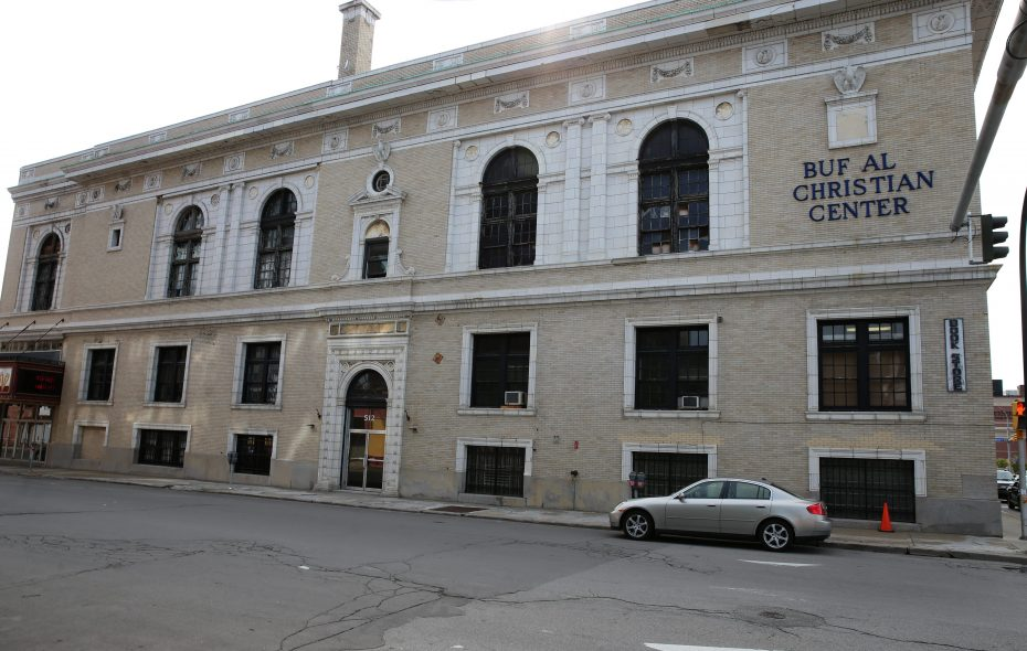 The Buffalo Christian Center, at 512 Pearl St. in Buffalo, pictured in 2014. (News file photo)