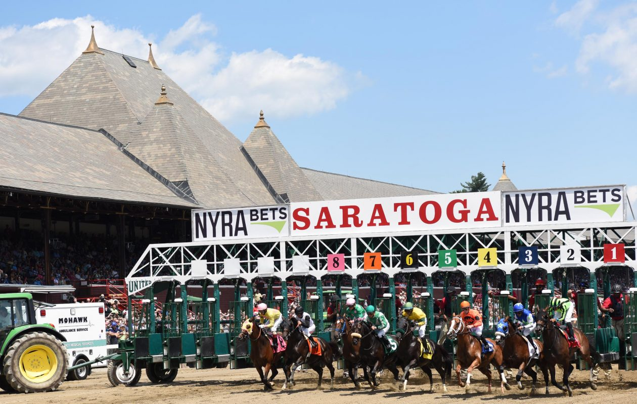 Saratoga Race Course opens its 149th season on Friday.  Photo Credit: NYRA