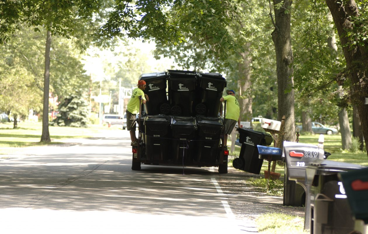 Highway Superintendent Thomas C. Jones II told the board that the bins will be delivered on doorsteps in mid- to late August with curbside pickup beginning in mid-September. (Buffalo News file photo