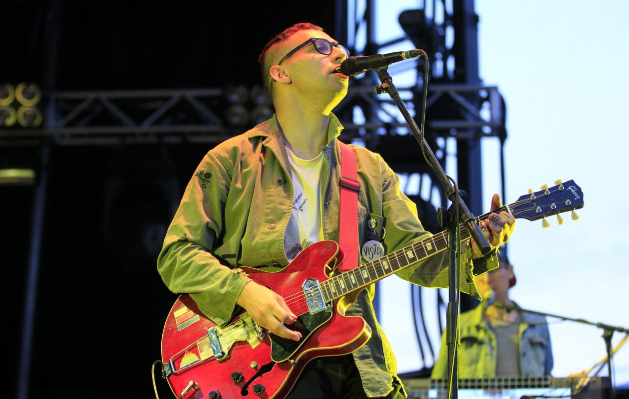 Bleachers, featuring Jack Antonoff, returns to the area for a show at Artpark. Antonoff is pictrued performing at the 2014 edition of Kerfuffle. (Harry Scull Jr. /Buffalo News file photo)