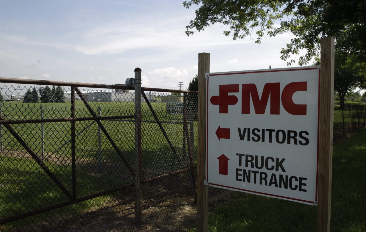 FMC Corp. plans more soil and sediment testing, looking for arsenic contamination in streams near Middleport. (News file photo)