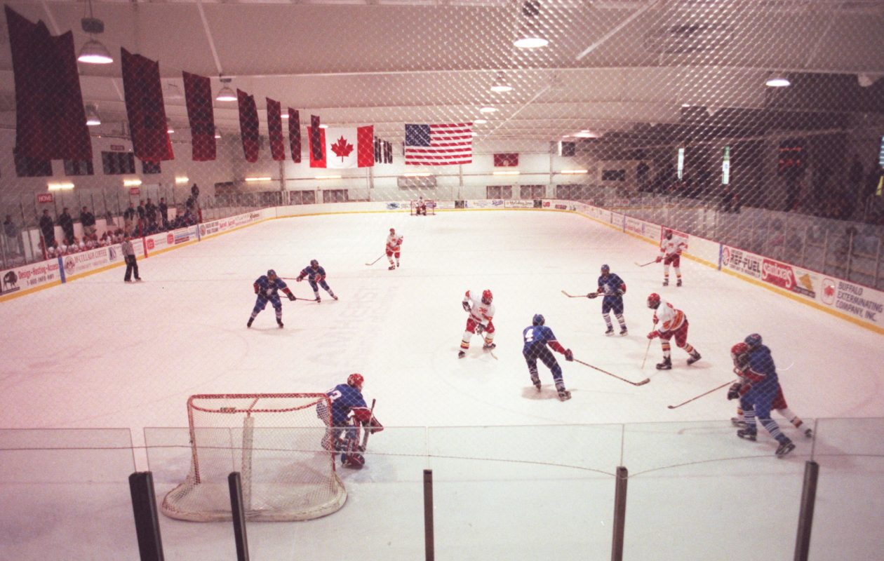 The Northtown Center, which currently has four rinks., is proving a boon to nearby hotels. (Buffalo News file photo)
