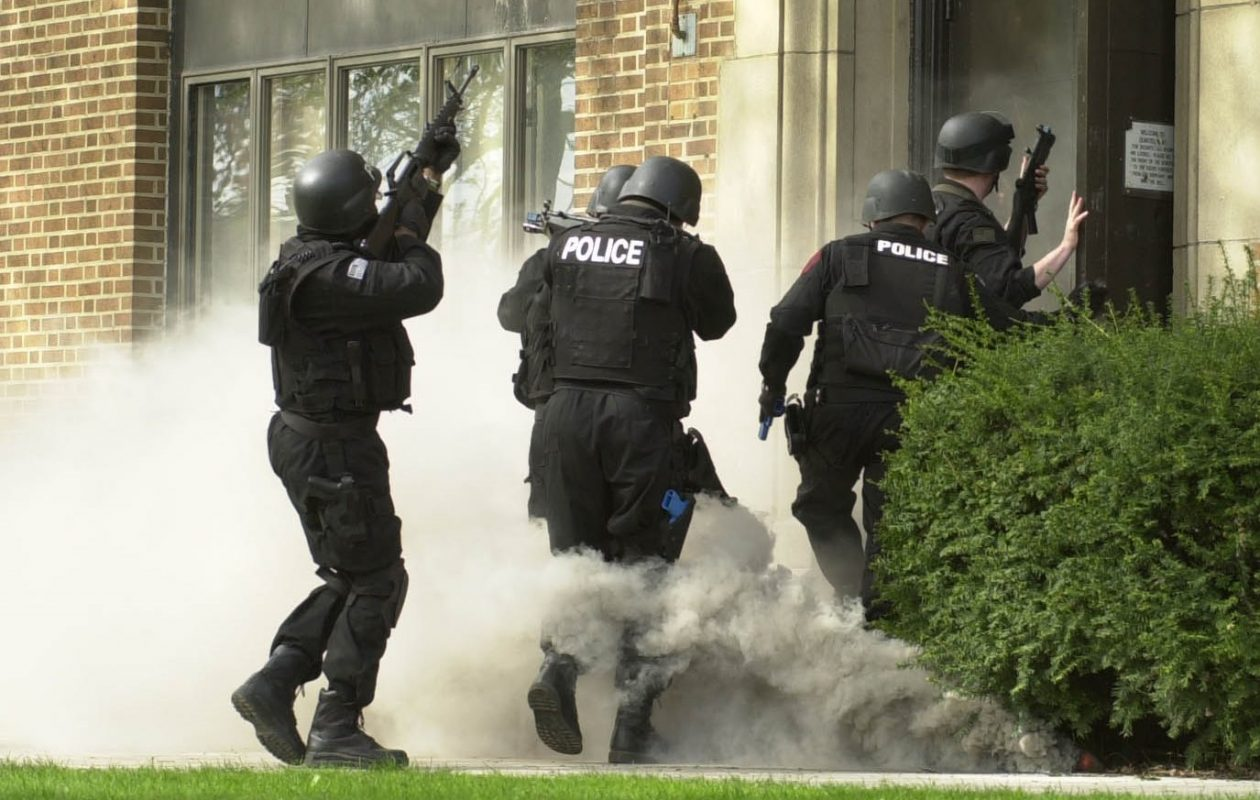 News file photo shows a SWAT training drill. (News file photo)