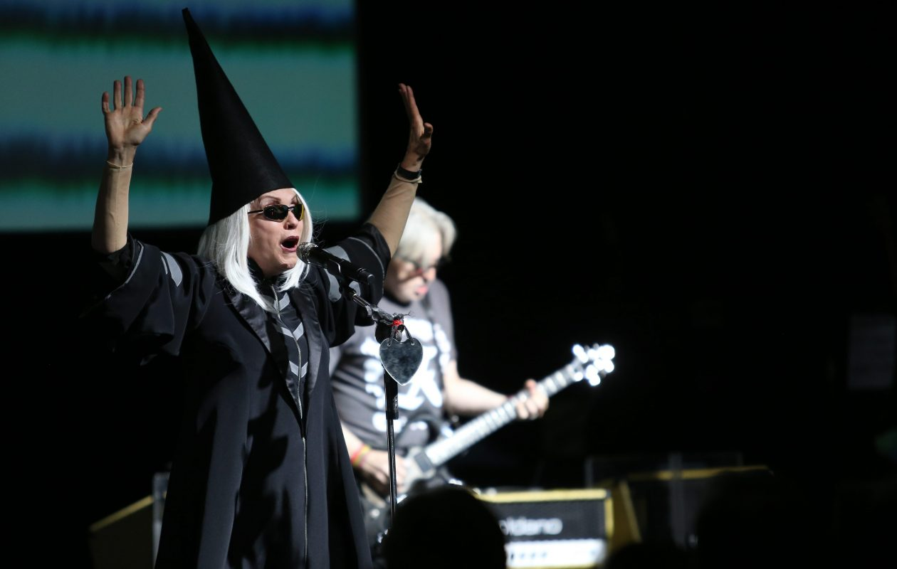 Debbie Harry and Blondie will join '90s rockers Garbage for the Rage & Rapture Tour at Artpark on July 25. (Buffalo News file photo)