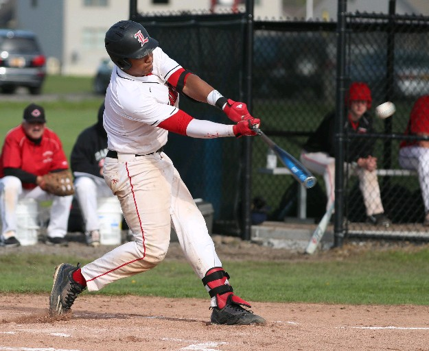 LG Castillo of Lancaster will be doing his slugging for the Milwaukee Brewers in the future. (File photo by James P. McCoy/Buffalo News)