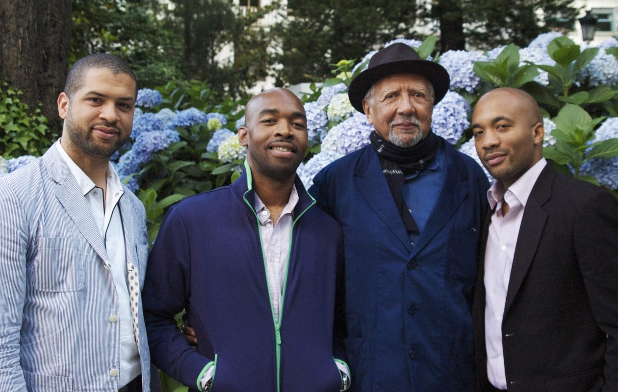 Charles Lloyd, second from right, performed at the Albright-Knox with his band. Read about his new live disc.