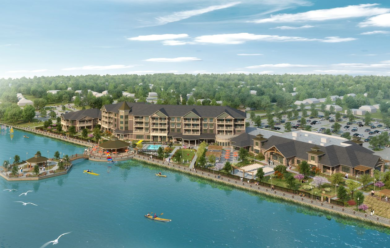 Hart Hotels of Buffalo and Krog Corp. of Orchard Park expect to open the Chautauqua Harbor Hotel in Celoron in July 2018.