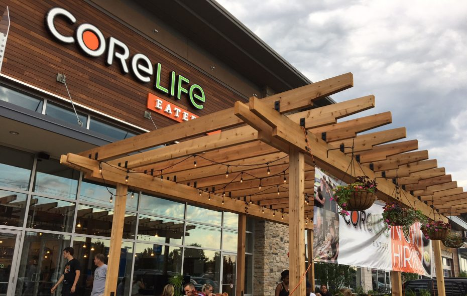 This photo shows the Transit Road location of CoreLife Eatery, which later this month will open its second area location on Niagara Falls Boulevard in Amherst.