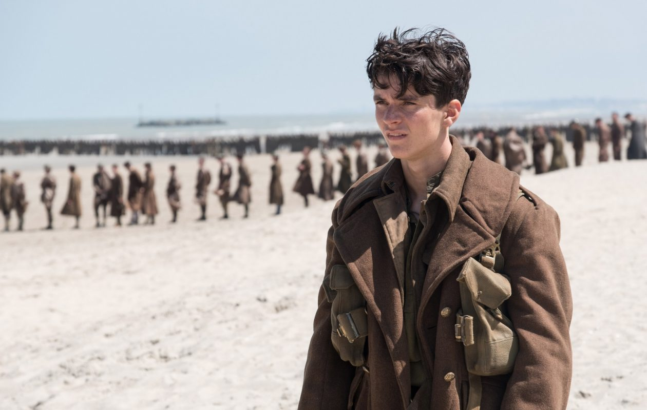 Fionn Whitehead in a scene from 'Dunkirk.' (Melinda Sue Gordon- Warner Bros. Pictures)