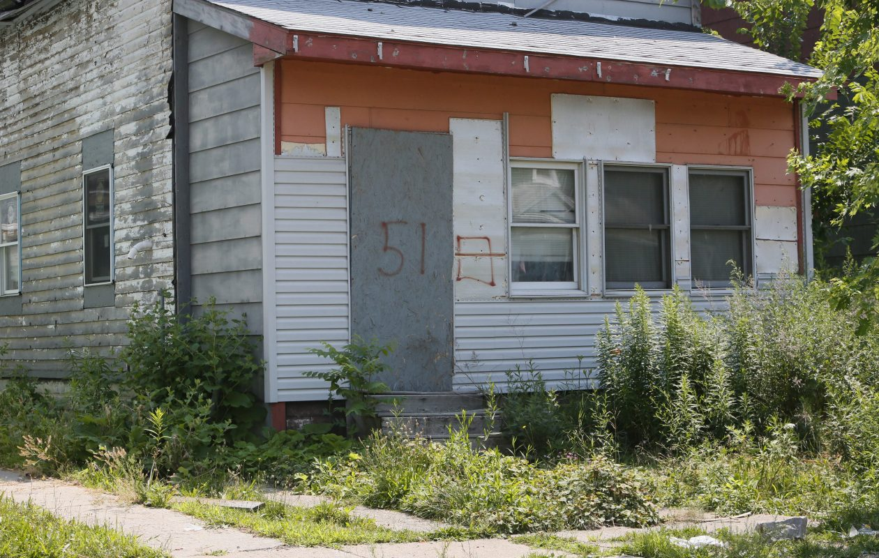 The East Side is home to too many dilapidated and rundown houses. (Derek Gee/Buffalo News file photo)