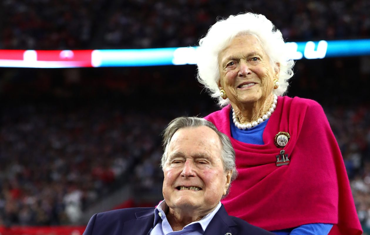 George H.W. Bush was president for just four years a quarter-century ago, but he and his wife Barbara hold a special place in American life today, when the country seems to yearn for the civility of the Bush years. (Getty Images)