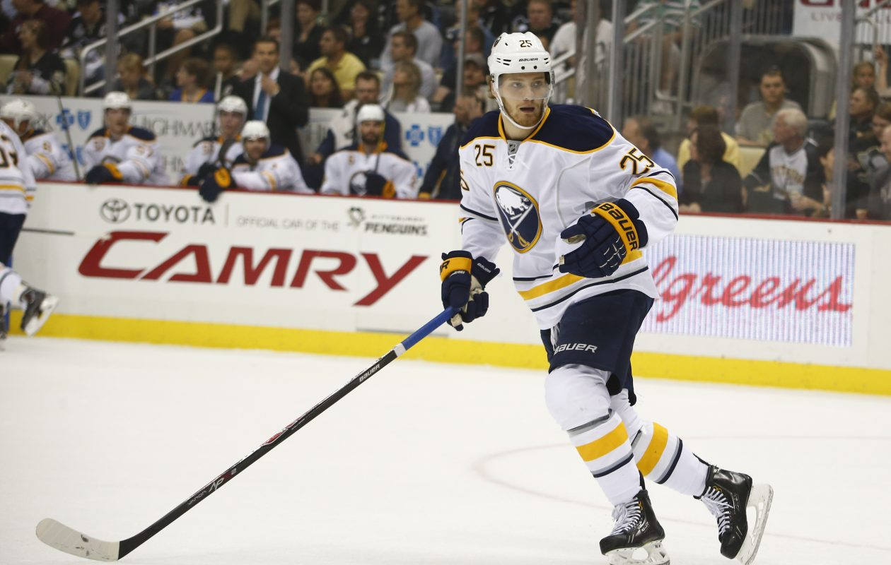 Mikhail Grigorenko totaled six goals in 68 games with the Sabres.  (Getty Images)