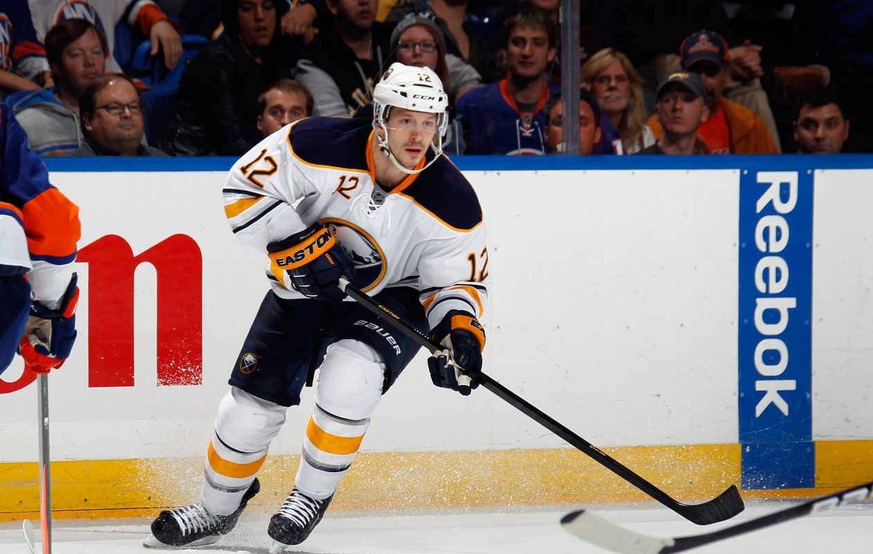 Kevin Porter is back in the Sabres' organization, where he played from 2012 to 2014. (Getty Images)