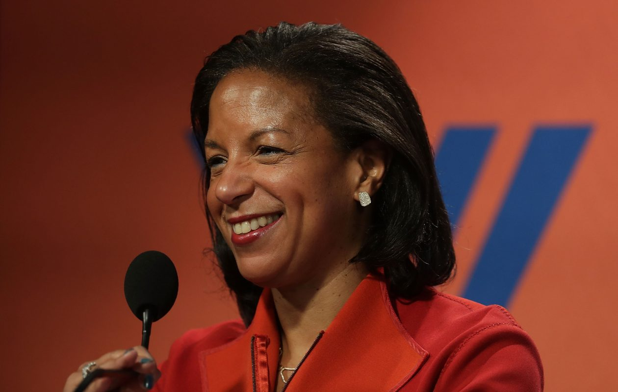 Former National Security Advisor Susan Rice will appear at UB as part of its speaker series. (Photo by Alex Wong/Getty Images)