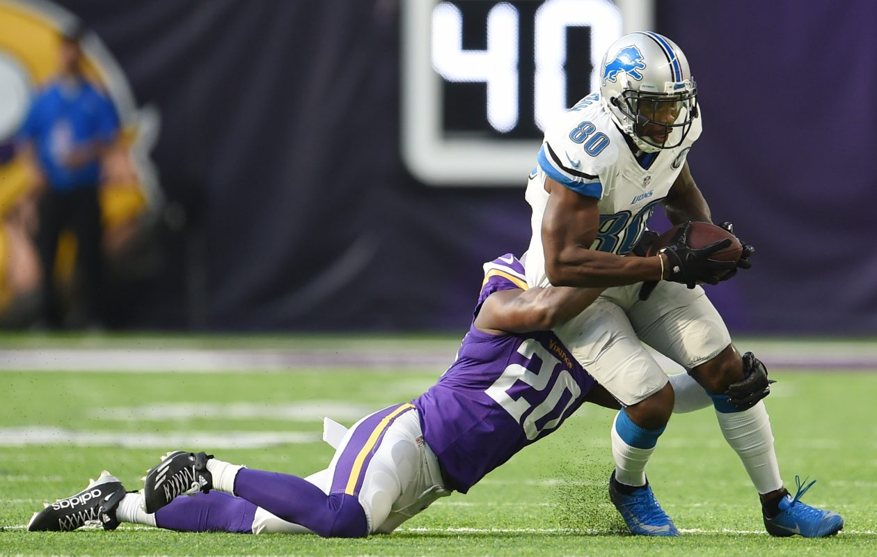 Former Lions receiver Anquan Boldin had eight touchdown catches in 2016. (Getty Images)