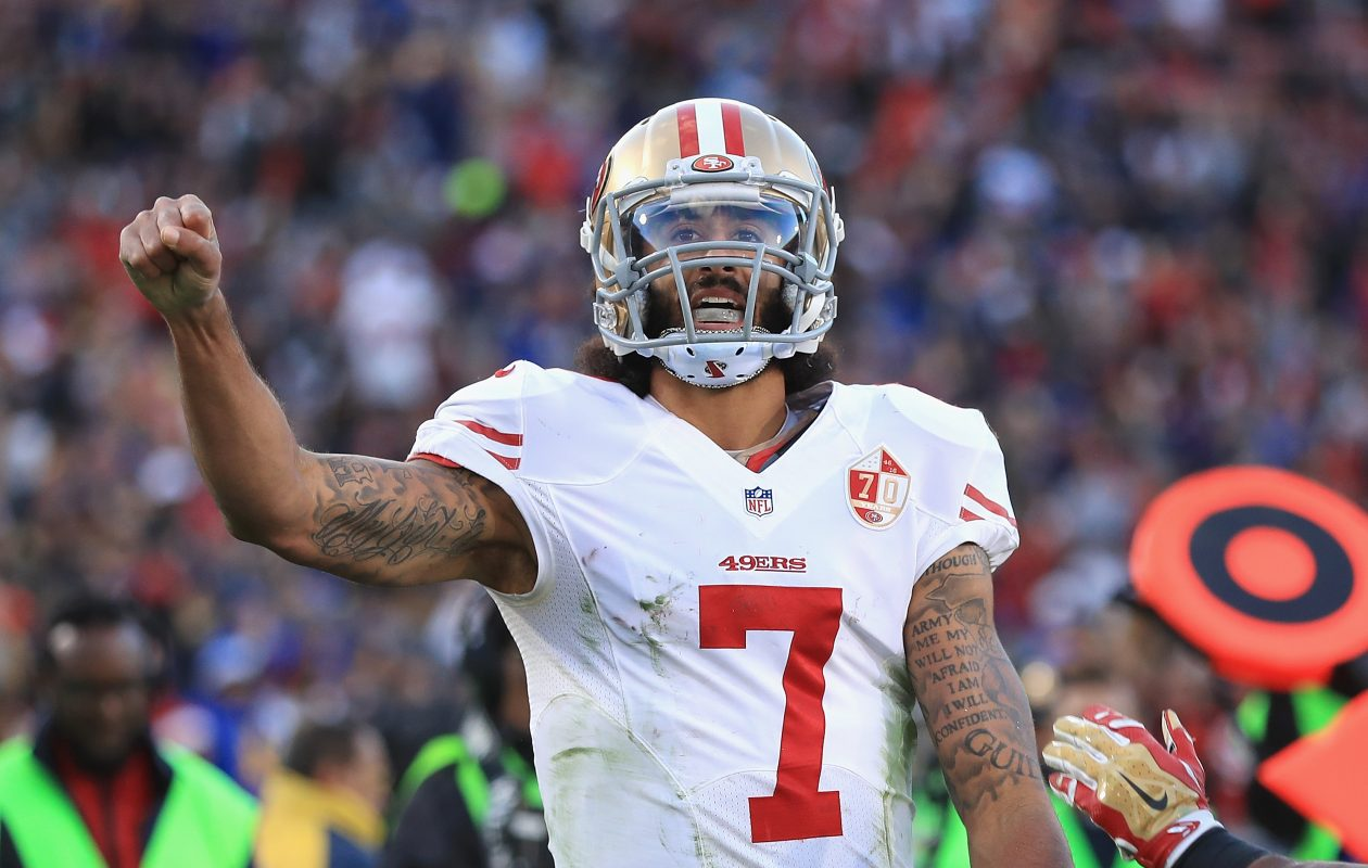 Colin Kaepernick. (Getty Images)