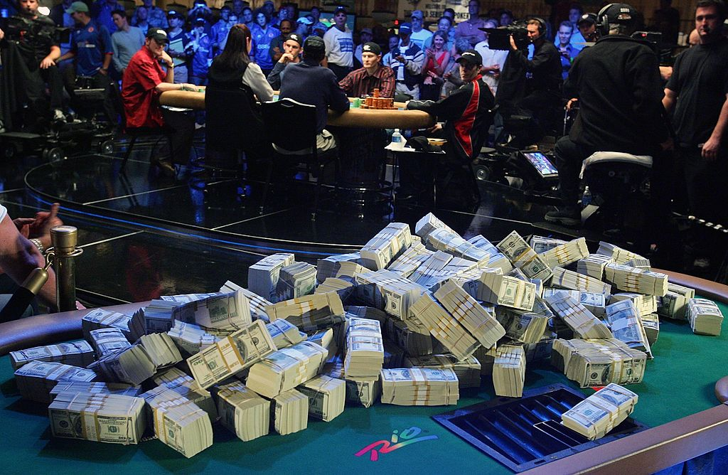 WNYer Bryan Piccioli fell short of the World Series of Poker Main Event grand prize. (Getty Images)