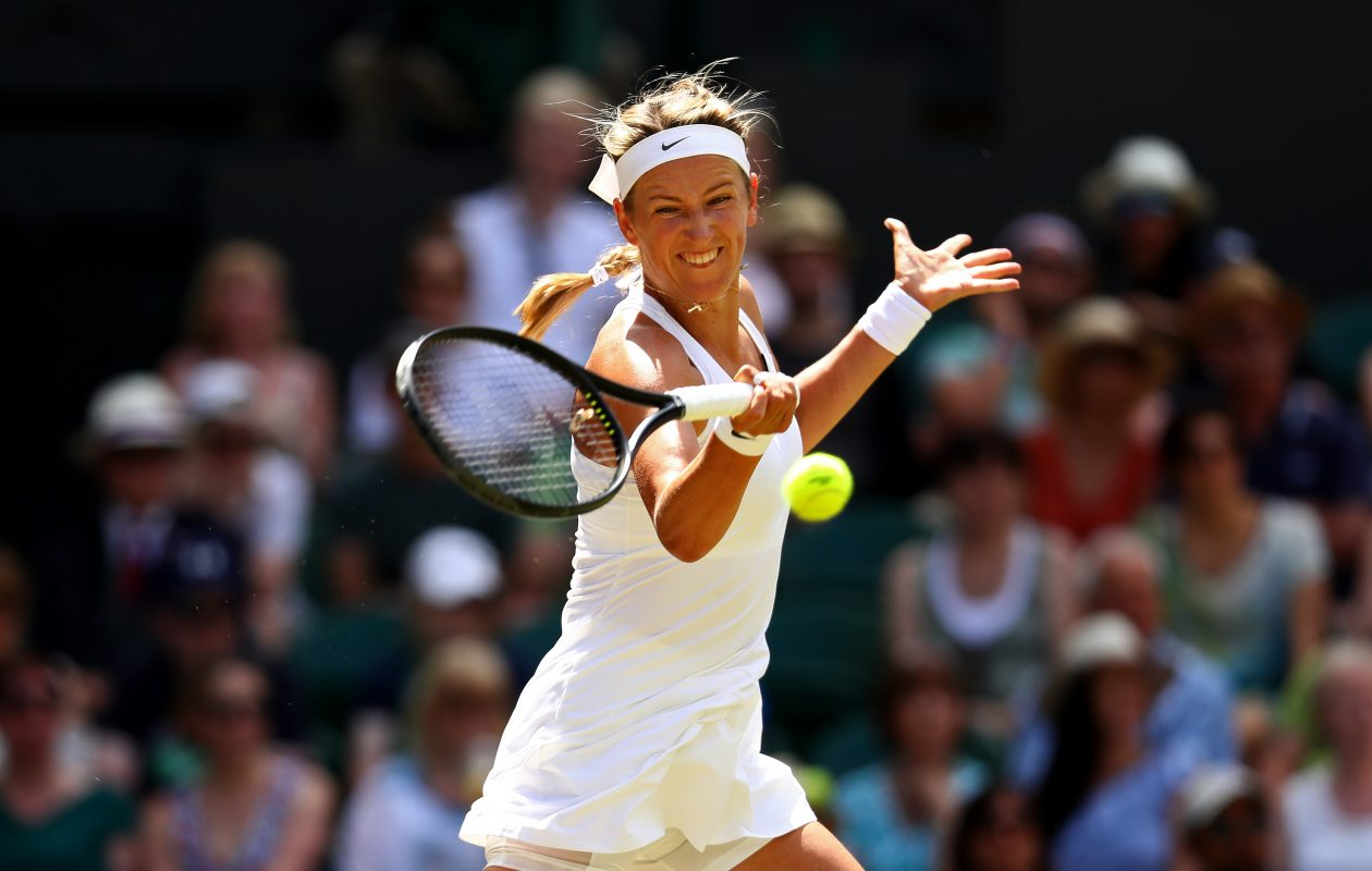 Victoria Azarenka has been among those complaining of gender bias in court scheduling at Wimbledon.  (Getty Images)