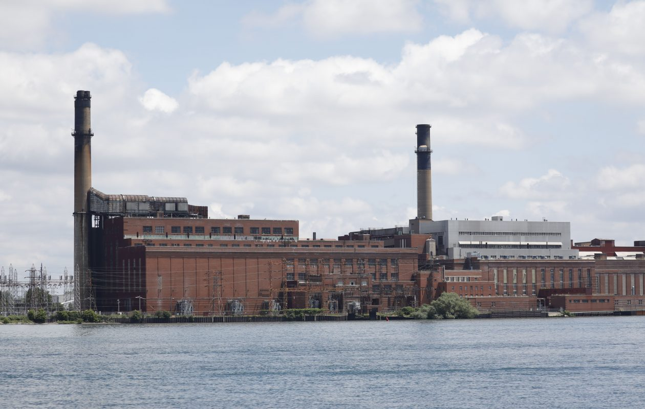 The Tonawanda Town Board is seeking public comment on its proposal to use eminent domain to take over the water intakes at the former Huntley Generation Station to ensure it continues to provide cheap, raw water to industrial customers. (Derek Gee/News file photo)