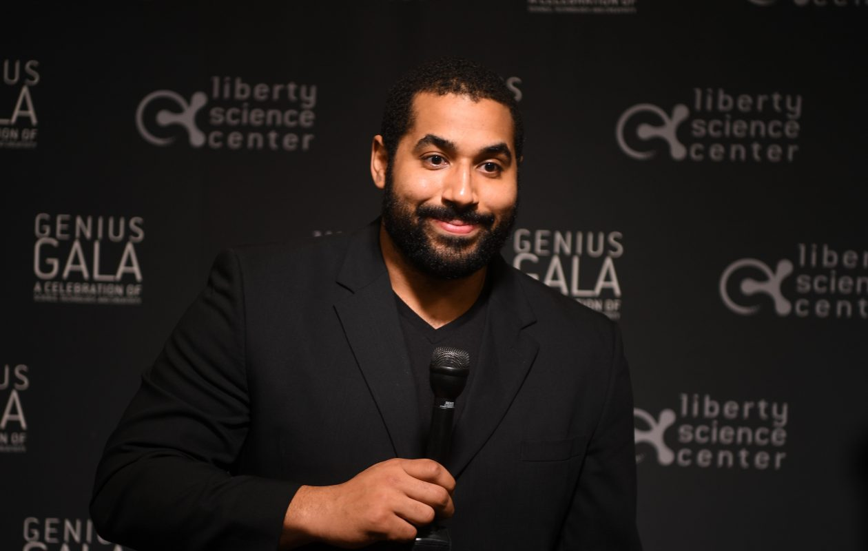 'I have a bright career ahead of me in mathematics,' John Urschel has said. 'Beyond that, I have the means to make a good living and provide for my family, without playing football.' (Getty Images)