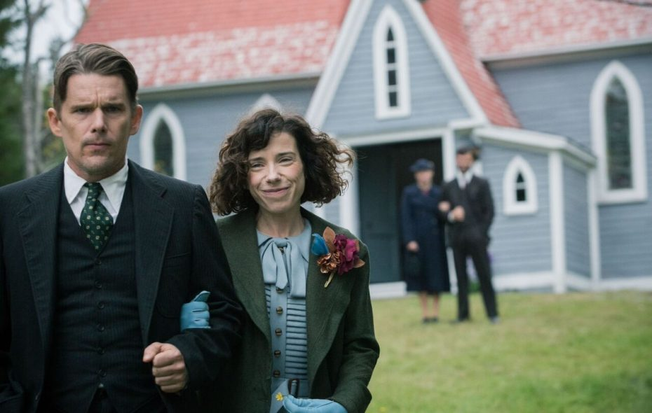 """Ethan Hawke, left, and Sally Hawkins star in the unlikely romance """"Maudie."""" (Sony Pictures Classics)"""