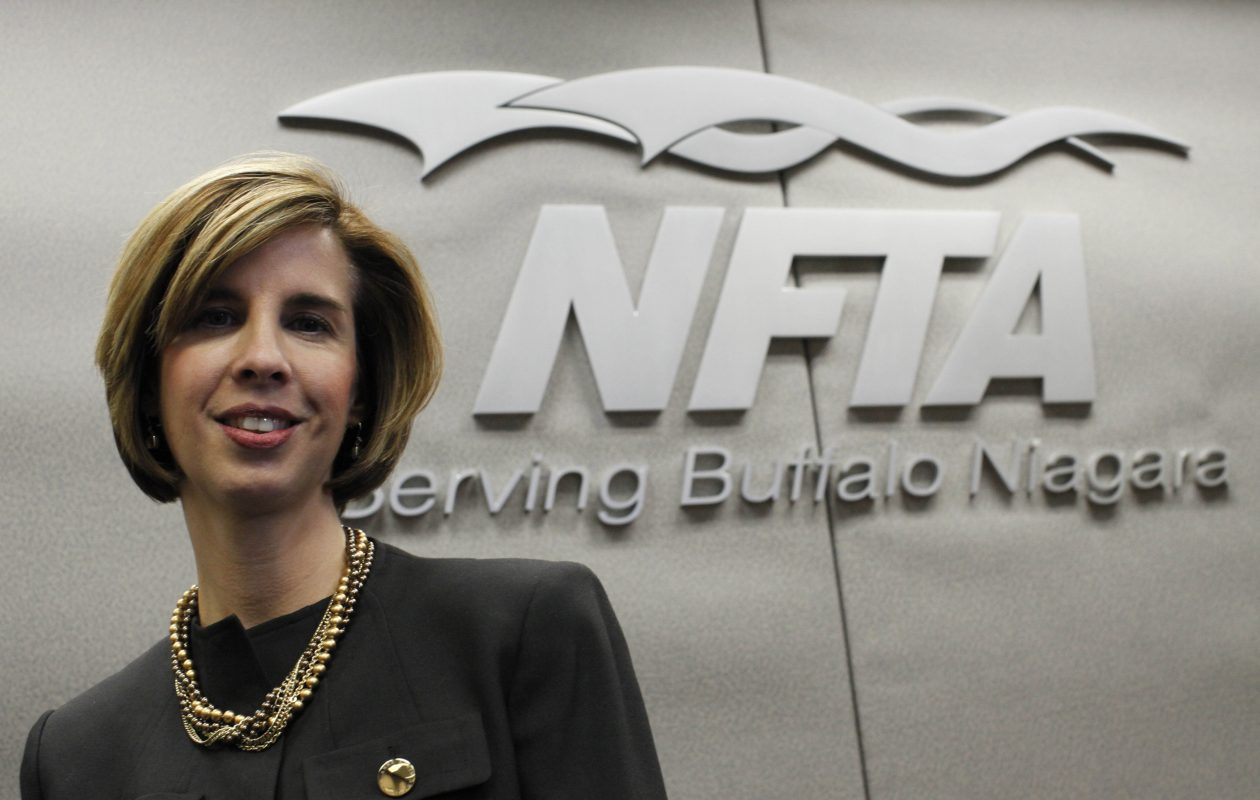 Political missteps have turned up the heat on NFTA Executive Director Kimberley Minkel. (Derek Gee/Buffalo News file photo}