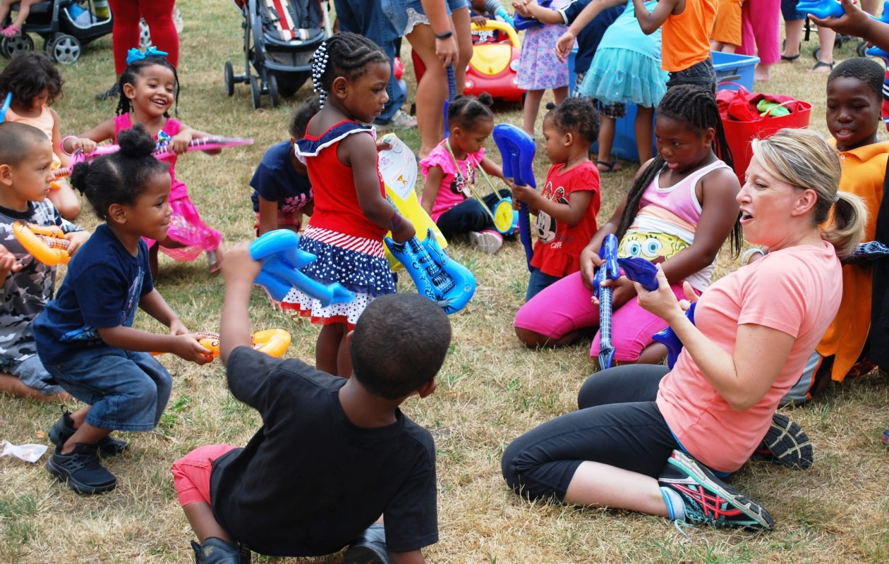 Movin' and Groovin' will give kids something to sing about at Healthy Baby Festivals in Buffalo and Niagara Falls. (Photo courtesy of Catholic Charities WIC program)