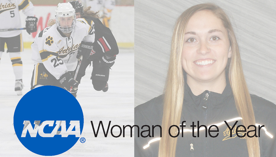 Kristin Lewicki is on the list of nominees for the NCAA Woman of the Year award. (Adrian College)