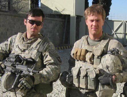 Steve Tylka, left, and Nicholas Alan Warden (Photo courtesy/Steve Tylka)