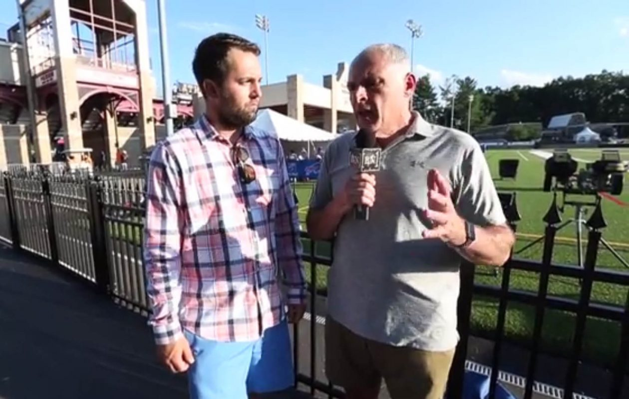 News Sports Reporters Jay Skurski and Vic Carucci.