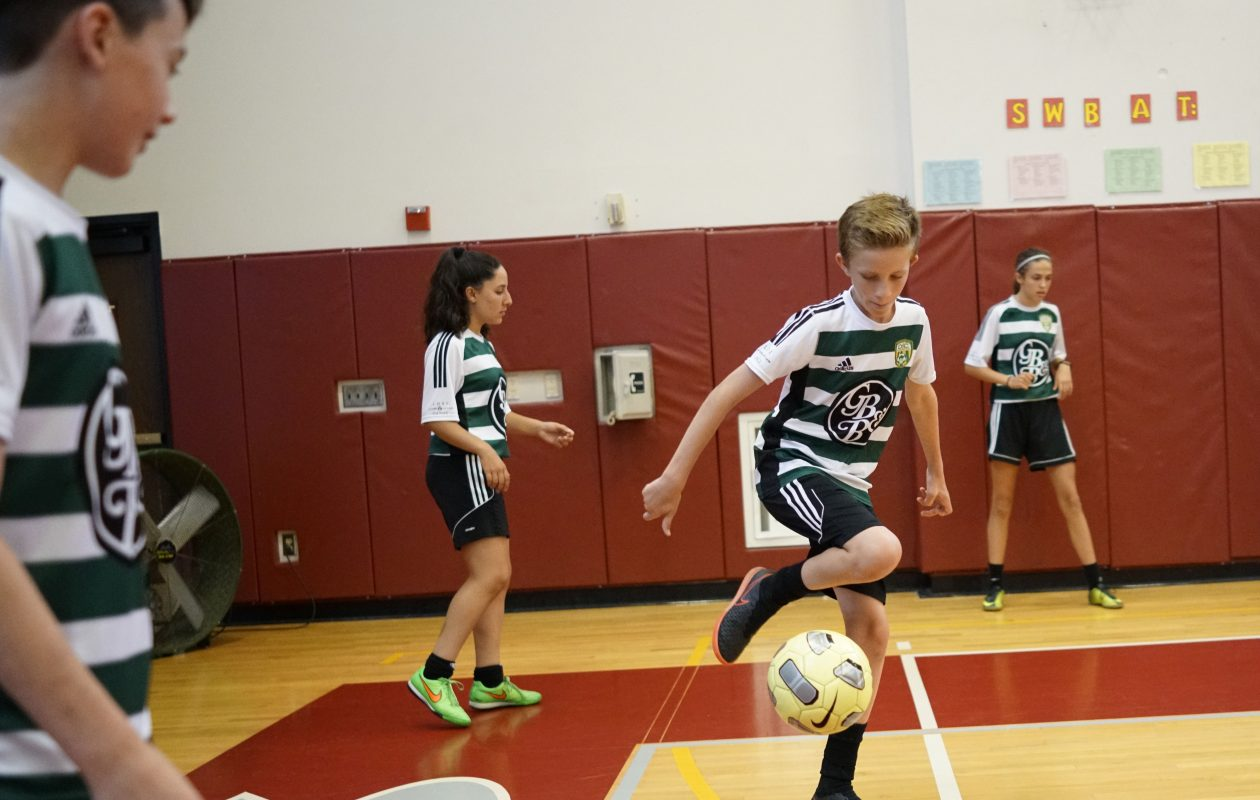 A new report shows that most young people in Western New York are not getting the activity level as these members of the Delaware Soccer Club. (Derek Gee/Buffalo News)