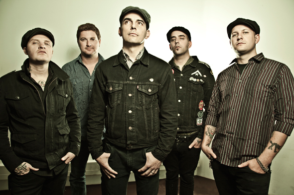 Boston punk act Street Dogs is one of more than 60 bands playing Vans Warped Tour at Darien Lake on July 13. (Photo via Hellcat Records)