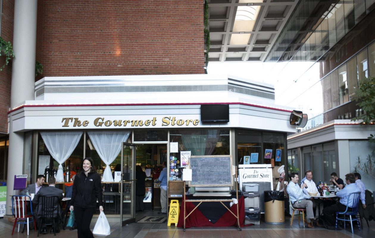 The Gourmet Store, on the first floor of Olympic Towers, is closing. (Sharon Cantillon/Buffalo News)