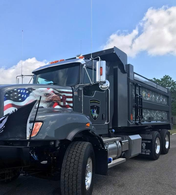 A new snow plow in the Town of Tonawanda is designed to honor local servicemembers.