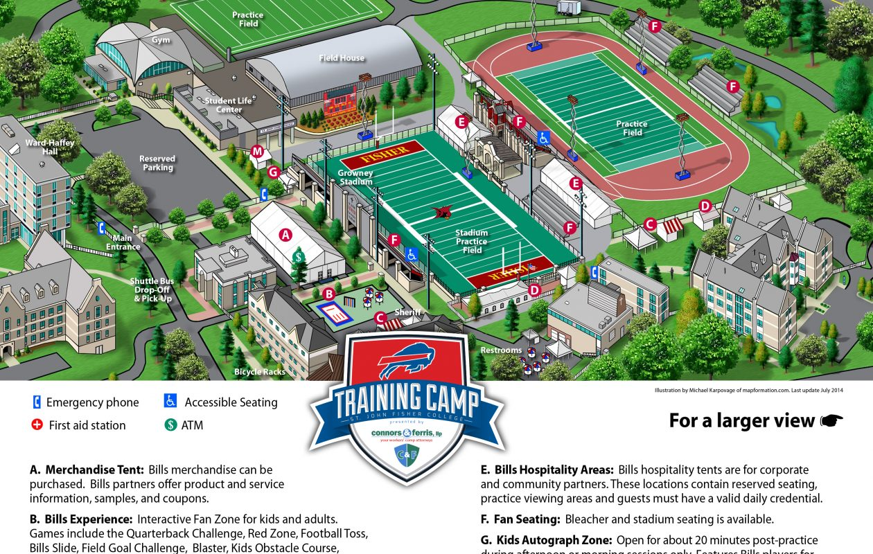 Bills Training Camp Guide: What every fan needs to know – The ...