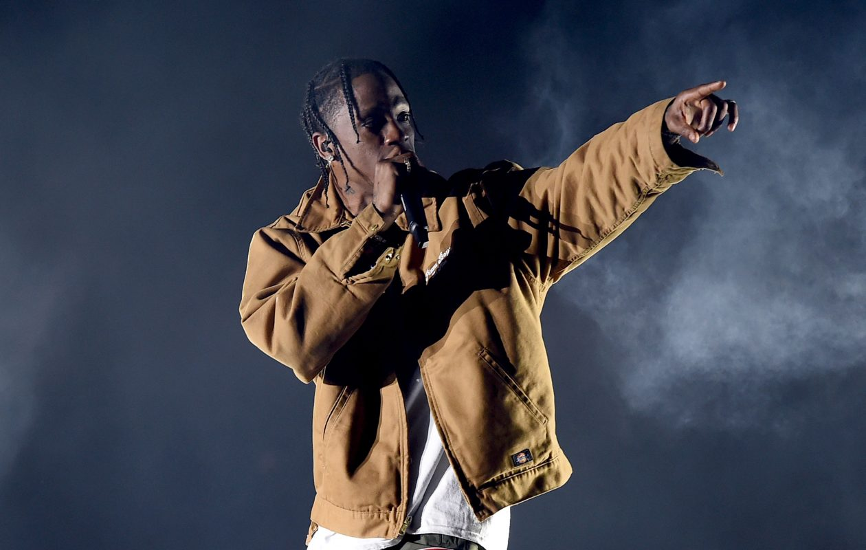 Travis Scott is one of the headliners of the first Tailor Made Music Festival. Vans can vote for the rest of the lineup. (Getty Images)