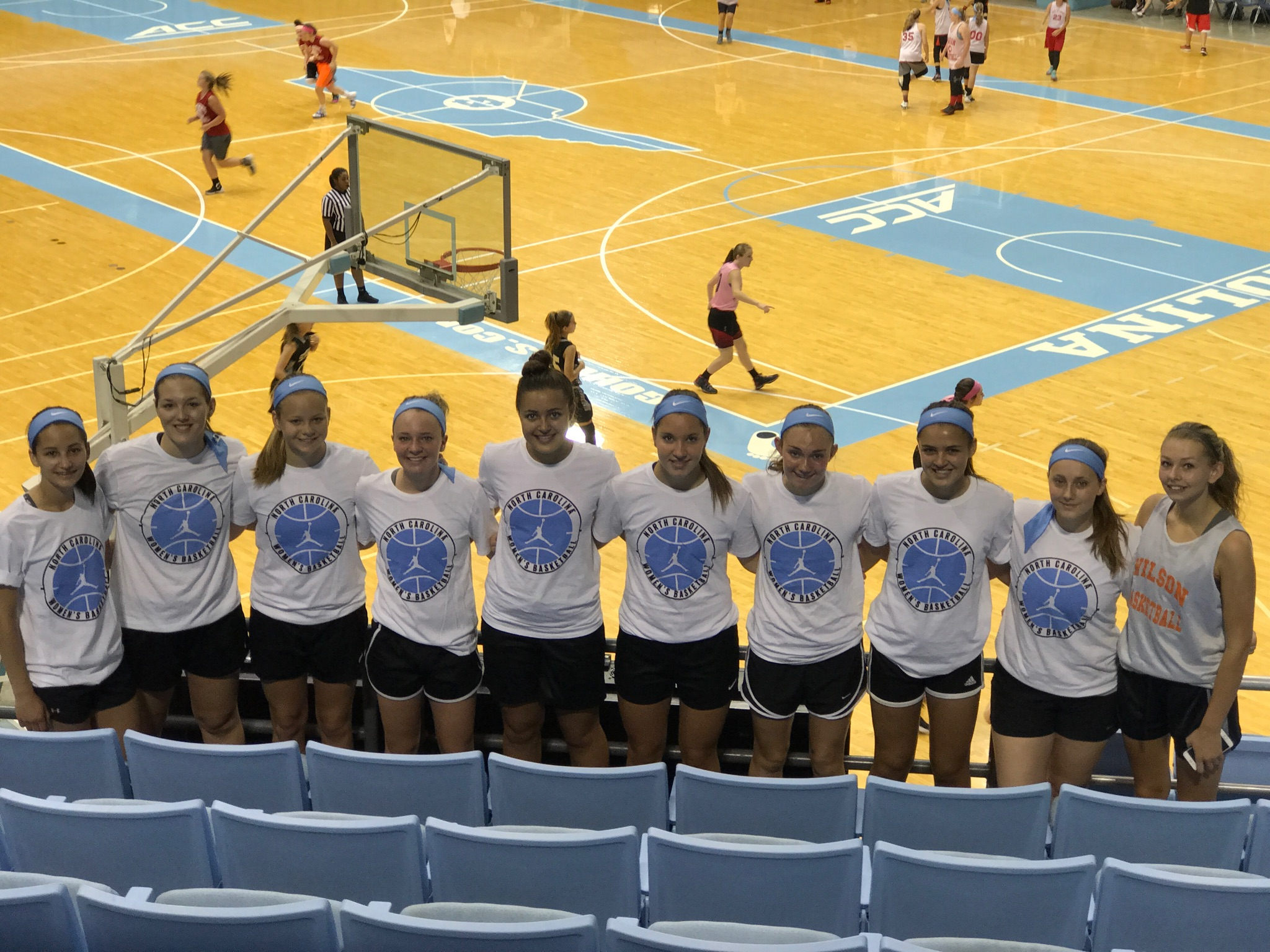 Wilson girls head south for North Carolina basketball camp – The