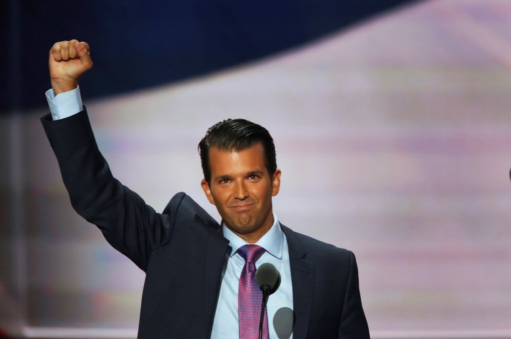 Before arranging a meeting with a Kremlin-connected Russian lawyer he believed would offer him compromising information about Hillary Cliinton, Donald J. Trump Jr. was informed in an email that the material was part of a Russian government effort to add his father's candidacy, three people with knowledge of the email told The New York Times. (TNS photo)