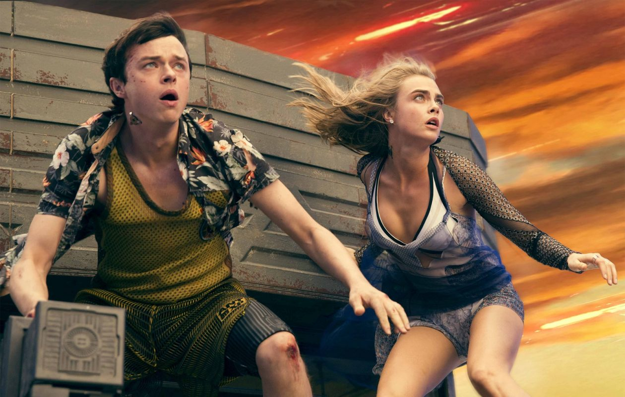 Dane DeHaan, and Cara Delevingne star in 'Valerian and the City of a Thousand Planets.'  (Vikram Gounassegarin/ TF1 FILMS PRODUCTION)