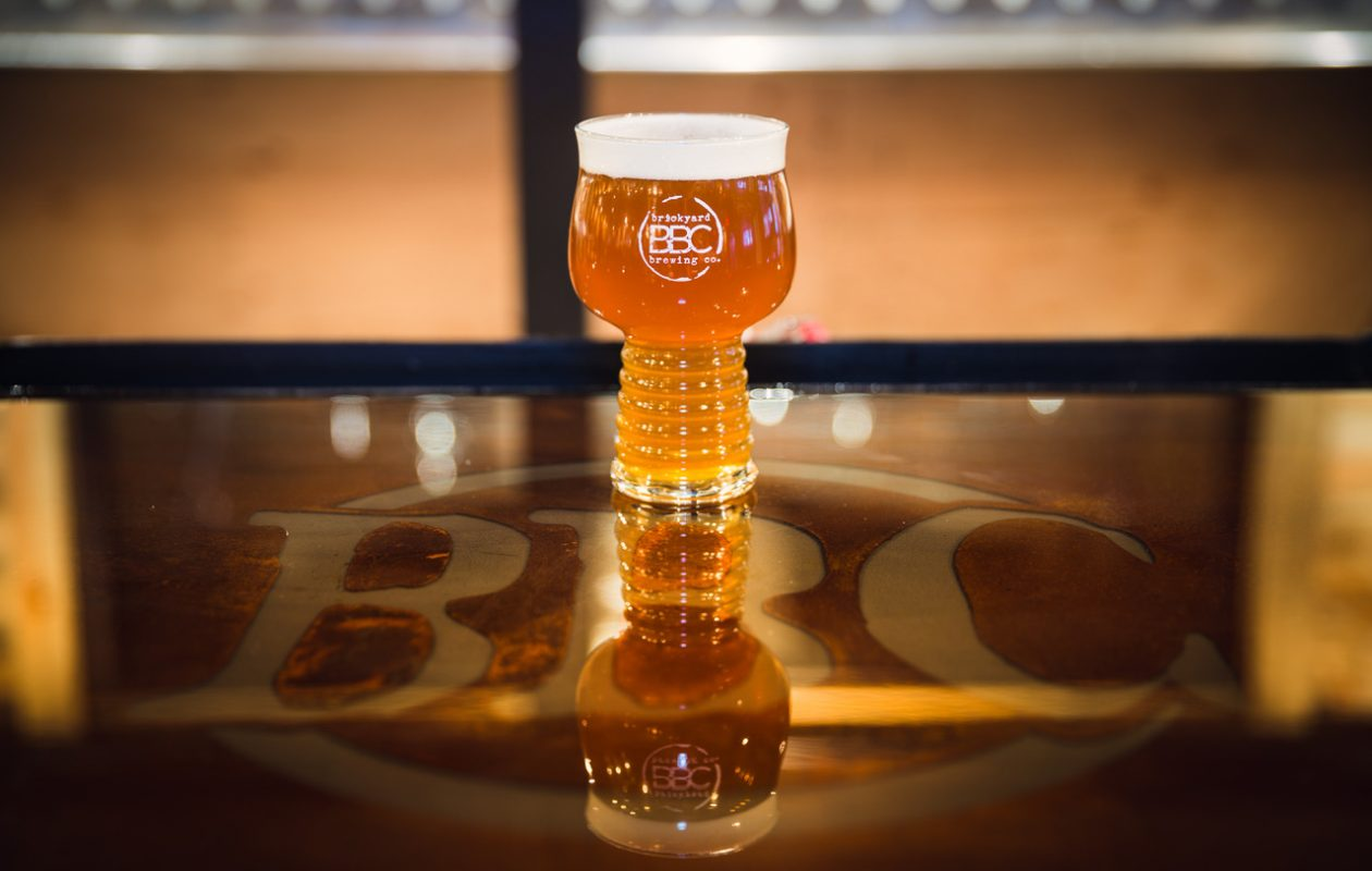 Brickyard Brewing Company in Lewiston has released its new White Bronco New England IPA. (Courtesy Brickyard Brewing Company)