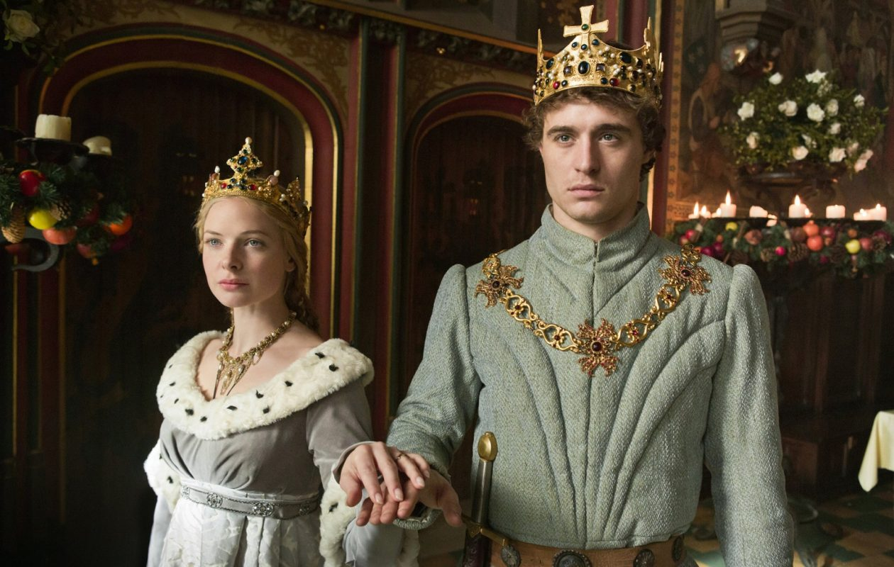 Rebecca Ferguson, left, and Max Irons, in 'The White Queen.' (Starz, Ed Miller)