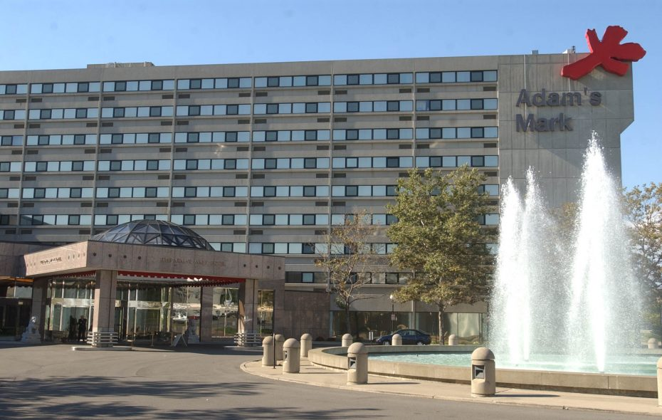 Canadian developer Harry Stinson bought the Adam's Mark Hotel in Buffalo, and is now converting it into the new Buffalo Grand Hotel. (Derek Gee/News file photo)