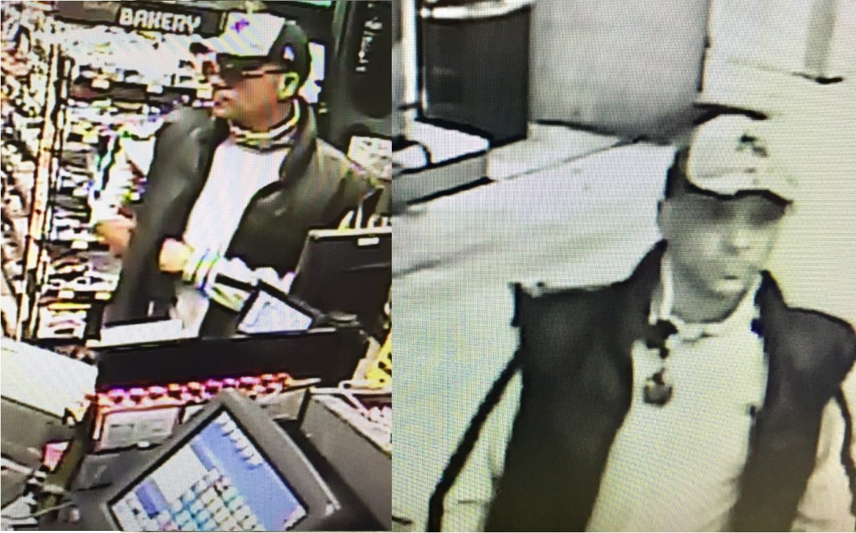 Police are looking for the suspect in a gas station robbery. (Cheektowaga Police)