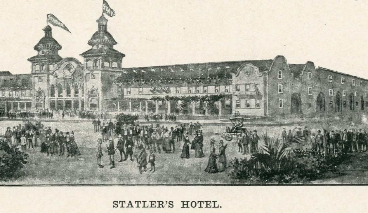 Statler's Pan-American Hotel was billed as the 'world's largest hotel.'